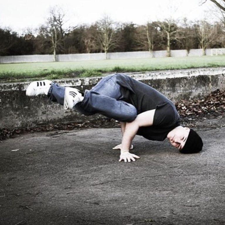 Ryan Phillips dancing
